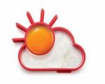 قالب تخم مرغ طرح خورشید2عدد Sunny Egg Shapers