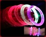 دستبند چراغدار حبابدار LEDشفاف 2عددی